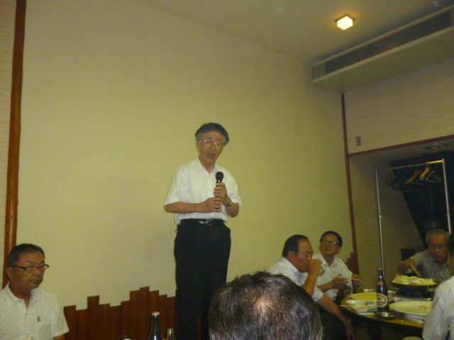 池田三代目会長です