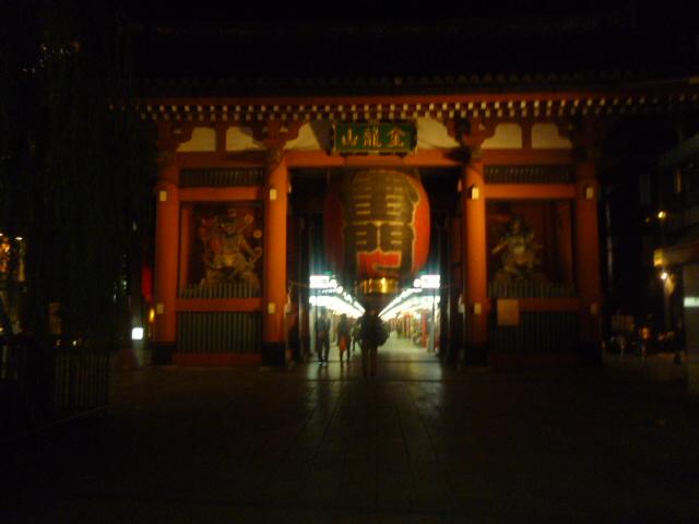 集合場所の雷門