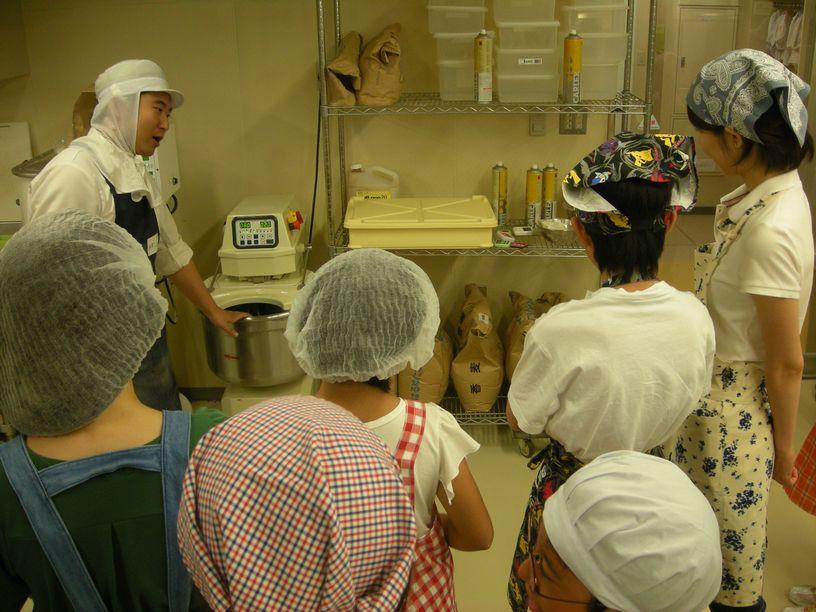 パン教室「これがミキサーです」
