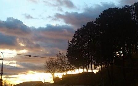 12月20日の太陽