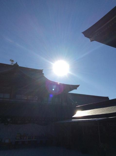 寒川神社境内より (477x640)