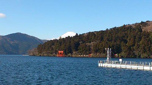 箱根と富士山