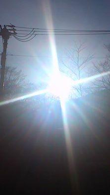 十字架の太陽