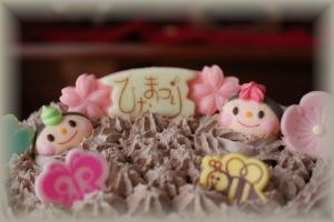 ひな祭cake2012