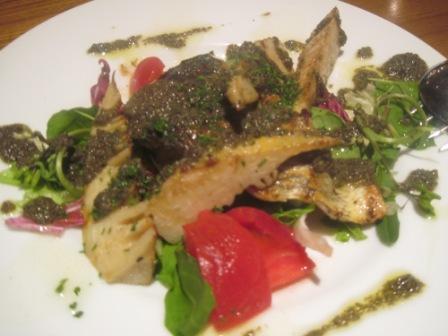 今日の魚料理