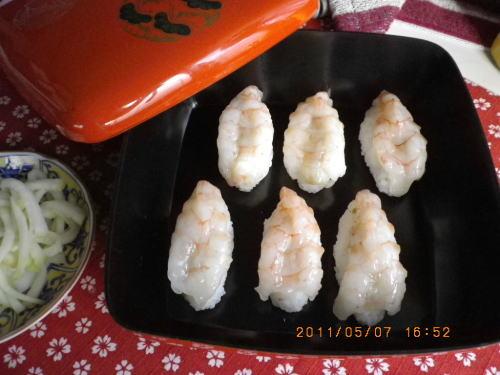 2011ゴールデンウィーク 握り(海老)