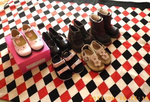 2011.9.夢子ちゃんへのお靴