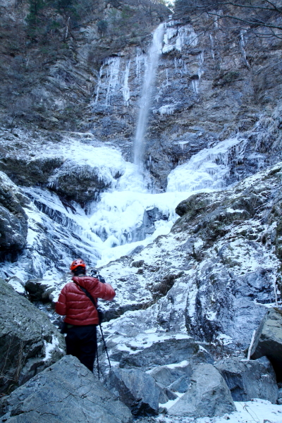 風折滝氷瀑3