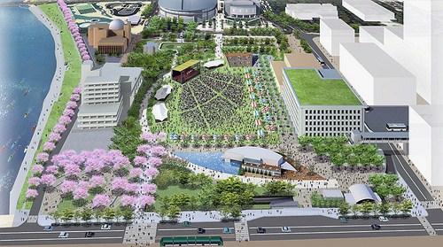 旧広島市民球場跡地計画