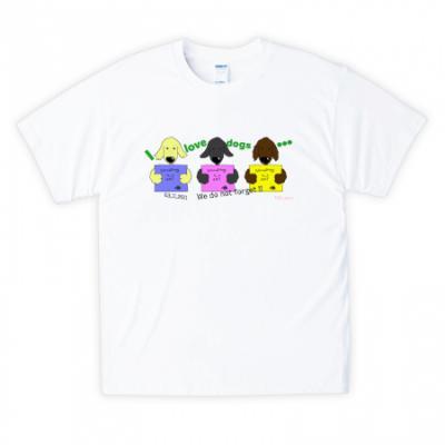 被災犬Tシャツ