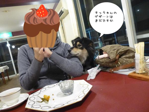 最後のデザートまで食べ過ぎです~
