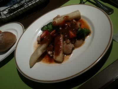 ベーカリーレストラン サンマルクのチキンランチ2