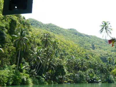 ボホール島「ロボック川クルーズ」9