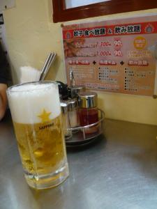 東池袋「で餃子とビール」