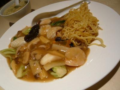 根津「天福飯店の夕食」4