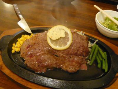 上野「ステーキのくいしんぼ」4