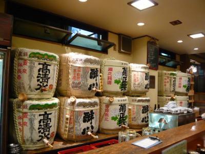 上野「全国銘酒 たる松」2