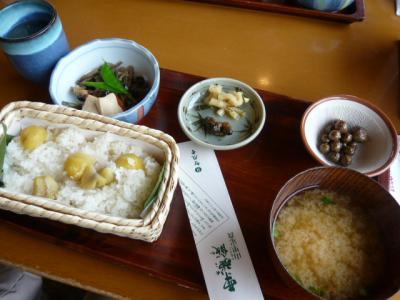 長野小布施「栗おこわの竹風堂」3