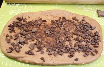 チョコ&ナッツのミロパン2