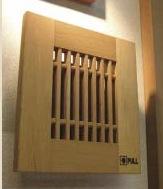 木製インターホンカバー化粧板2