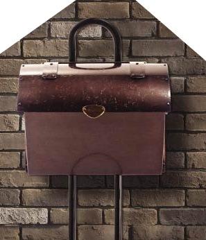 銅製メールボックス2型2