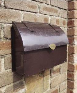銅製メールボックス2型3