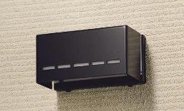 ゲートランプ角型ブラック