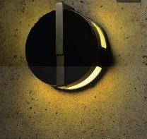 ゲートランプ丸型ブラック夜