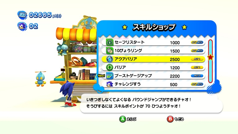 sonicgenerations Shop