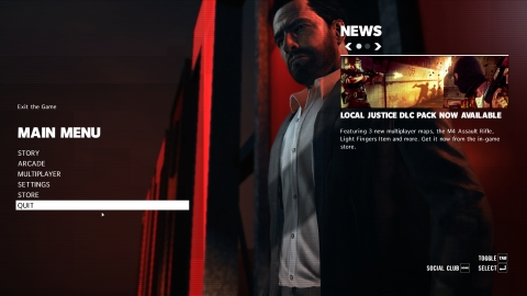 MaxPayne3 Main Menu 02