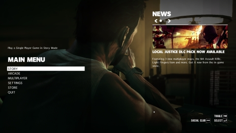 MaxPayne3 Main Menu 01