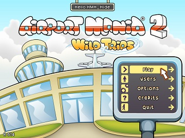 AirportMania2 Menu