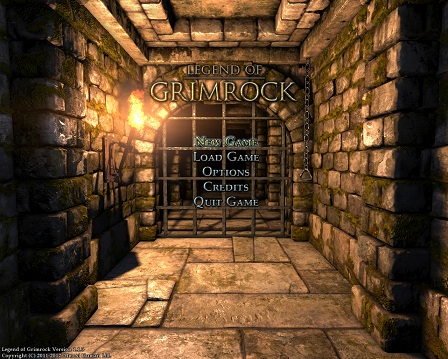 grimrock Menu