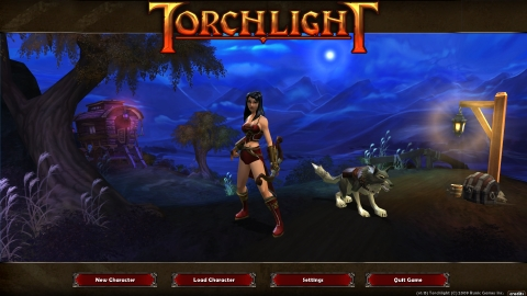 Torchlight Menu
