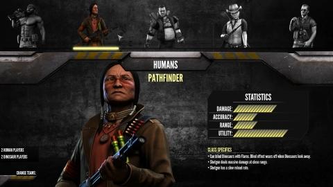 PrimalCarnageGame Human 5 class