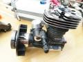 GAUI T-10ガソリンエンジン調整メンテナンス