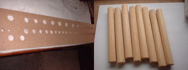 19. Rackboard drilled