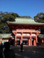 大宮氷川神社2012年初詣