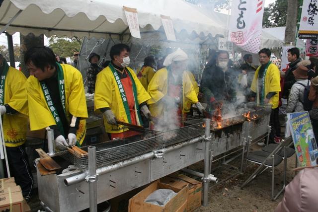 110123 宮崎県地鶏焼き W