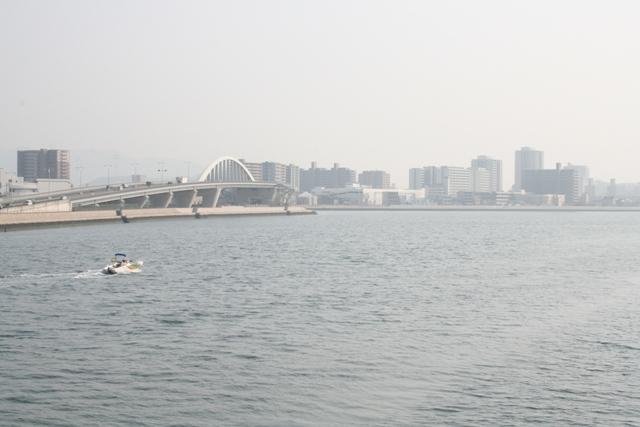 110205 本安川と宇品橋 W