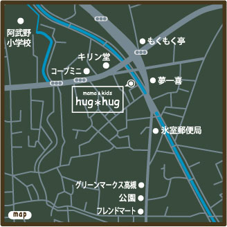 hug地図