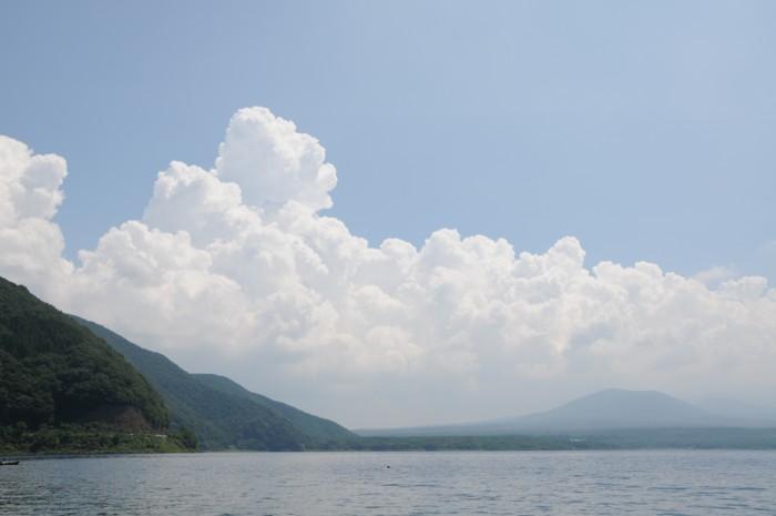 5952綿のような、雲。。