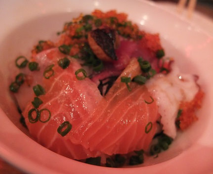 海鮮丼 小