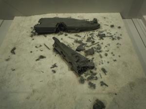 大和残骸模型