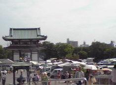 日泰寺 弘法縁日境内