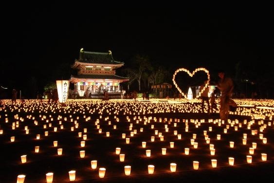 約2万本の献燈器
