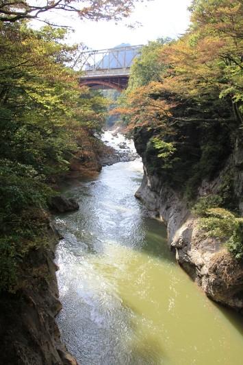 瀧見橋からの吾妻渓谷