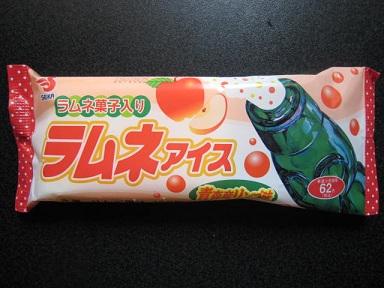 ラムネアイス青森産リンゴ味