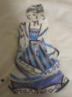 青の姫 原画