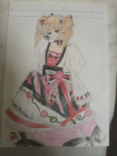 赤の姫 原画
